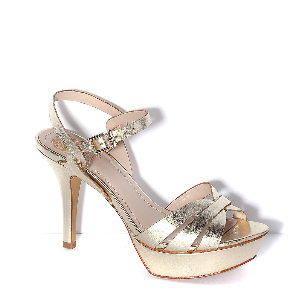 Lyst Vince Camuto Peppa Strappy Platform Heeled Sandal