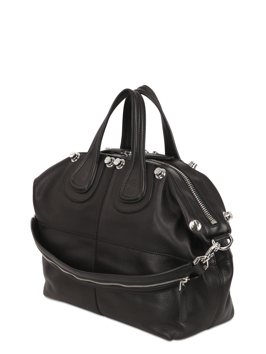 Lyst Givenchy Medium Nightingale Studded Leather Bag In