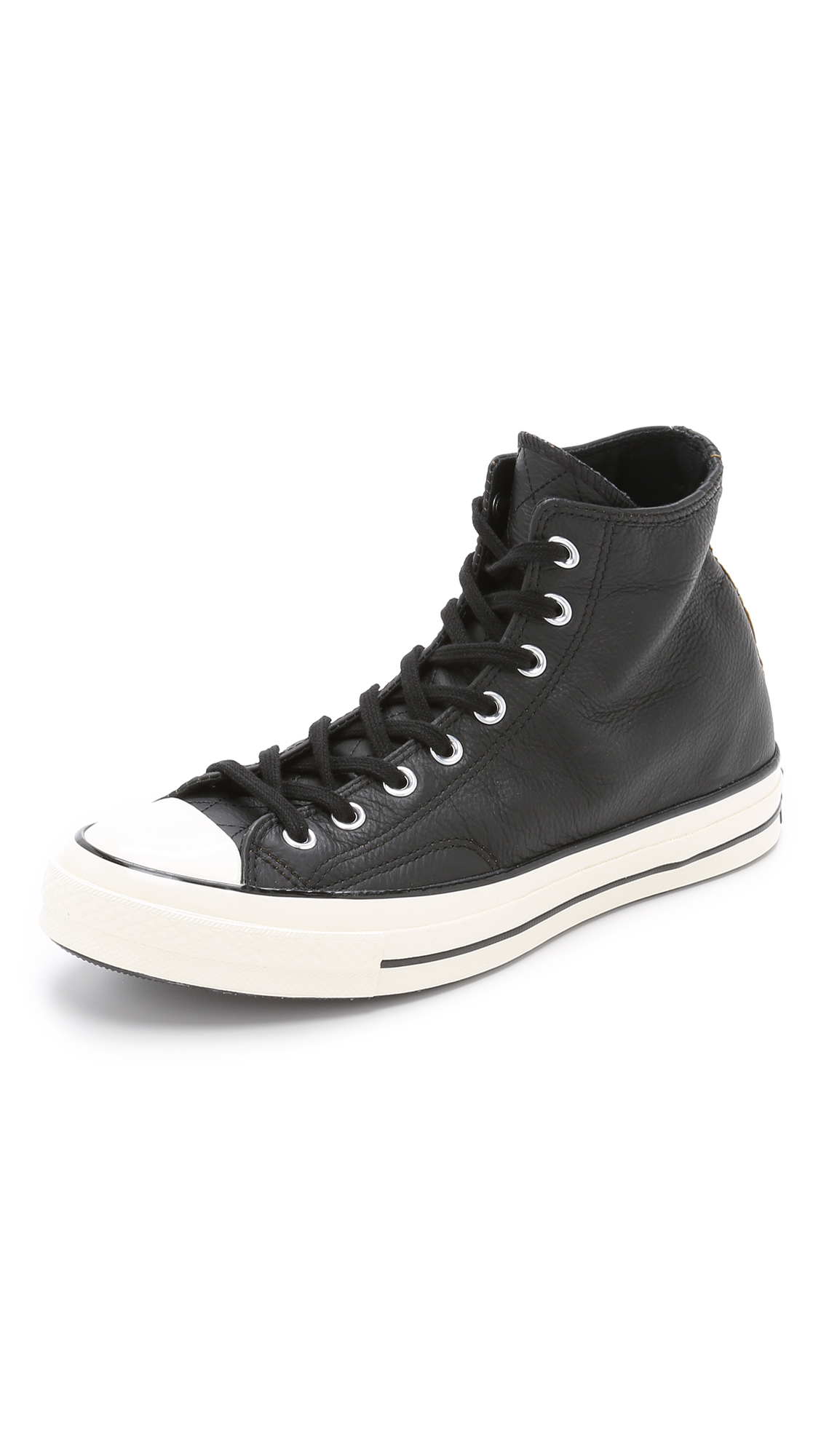6d489939213 Lyst - Converse Chuck Taylor All Star  70s Leather High Top Sneakers ...