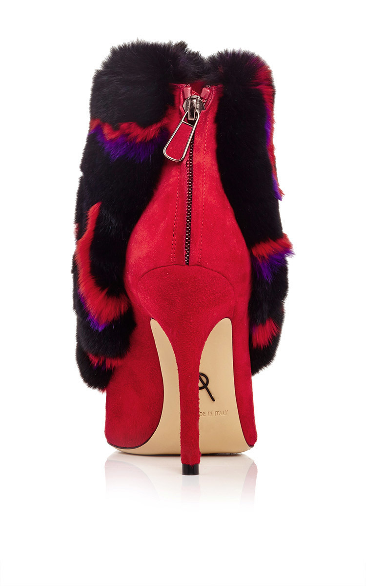 Forever 21 Shaggy Faux Fur Vest in Purple | Lyst