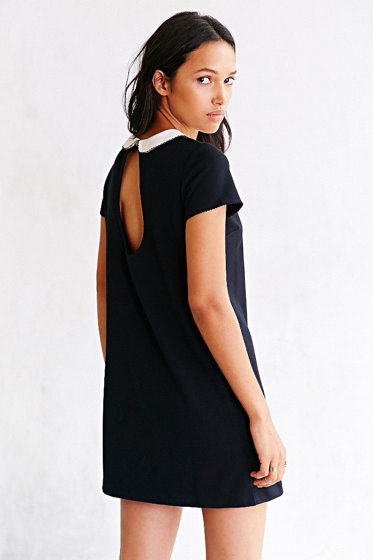 Lyst cope cooperative mary mack ponte knit dress in black gallery publicscrutiny Images