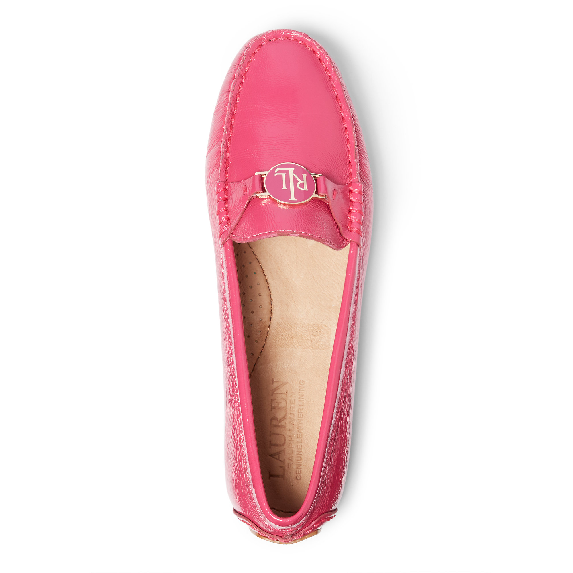 e80e102b35d Lyst - Pink Pony Carley Patent Leather Loafer in Pink