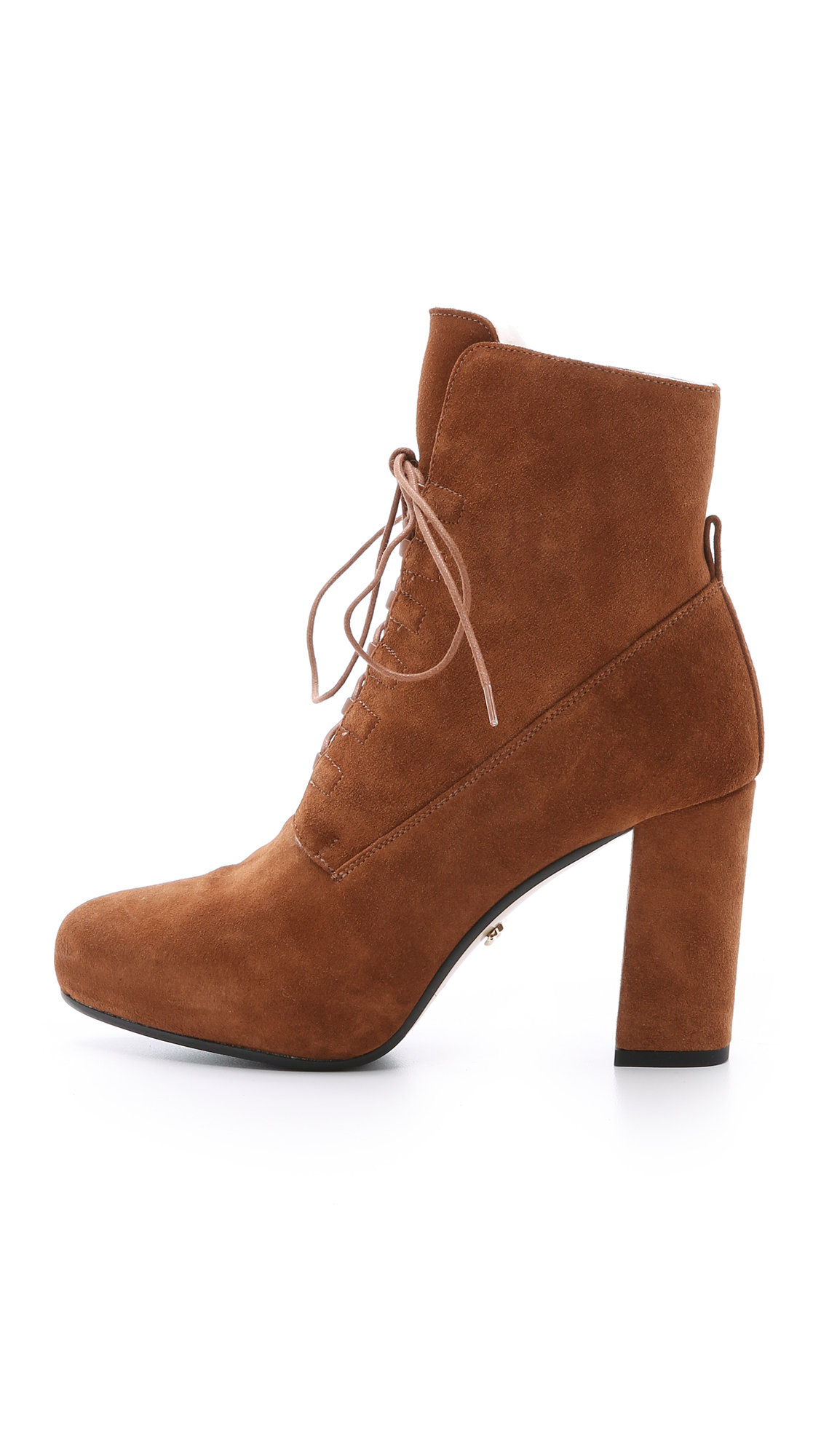 clearance brand new unisex Diane von Furstenberg Suede Lace-Up Ankle Boots free shipping best deals cheap price for nice online good selling online o81Vdr