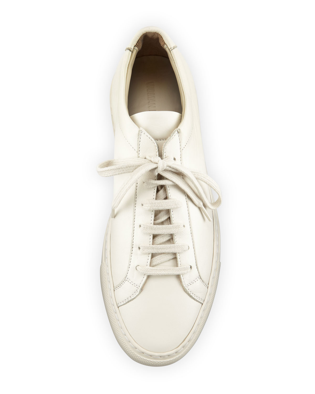 1087eeff5b8 Common Projects Achilles Leather Low-top Sneaker in White - Lyst