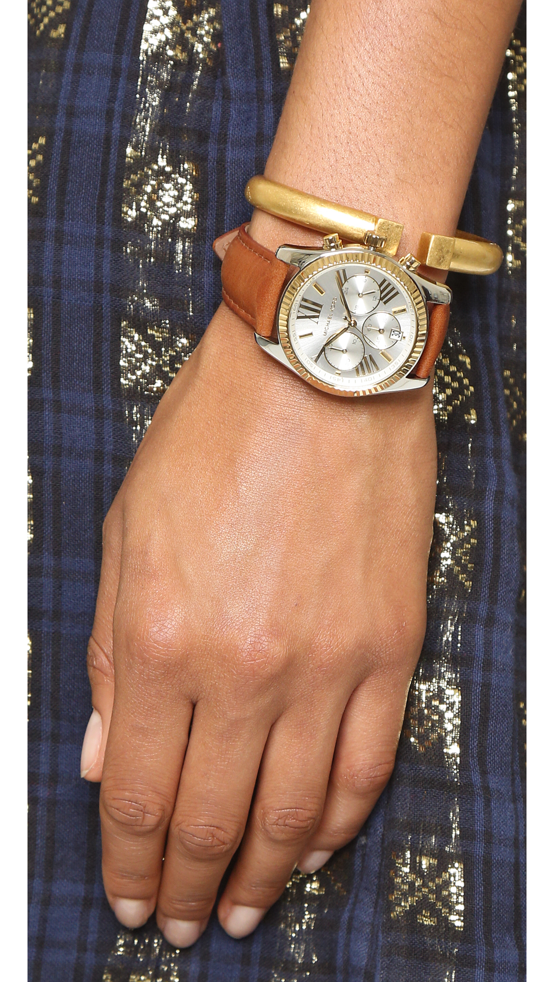 6463b1263371 Gallery. Previously sold at  Shopbop · Women s Gold Watches Women s Michael  Kors Lexington