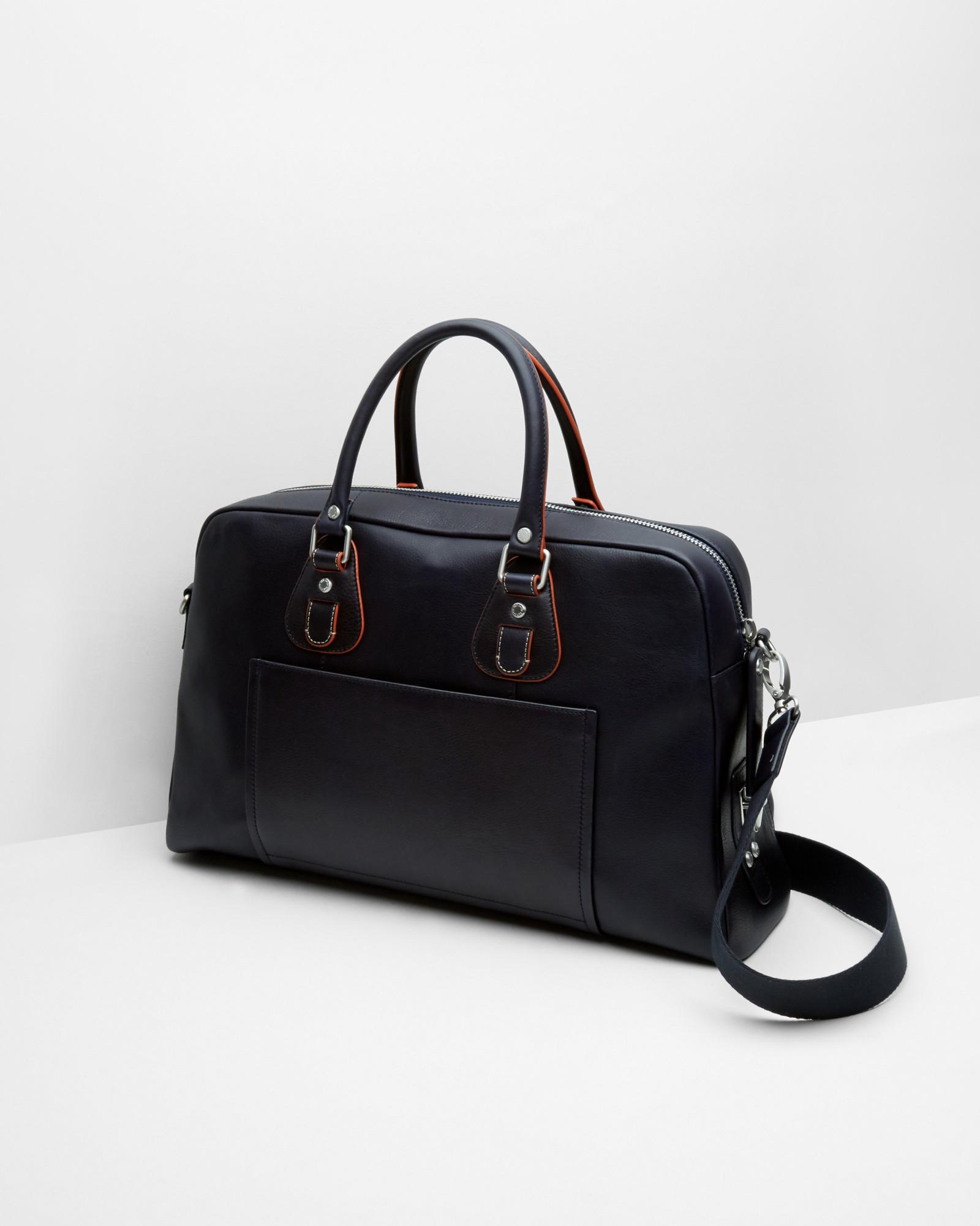 Label Be Color-Block Bowler Bag UVUDCh96