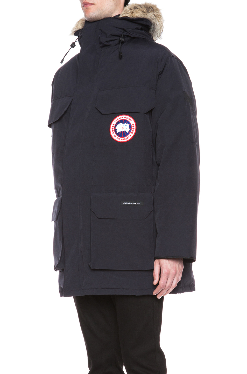 Canada Goose Expedition Polyblend Parka In Blue For Men