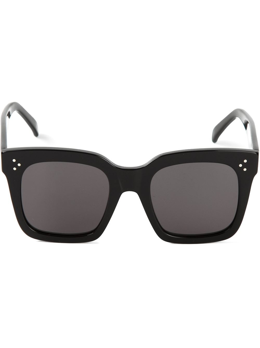 C 233 Line Tilda Sunglasses In Black Lyst