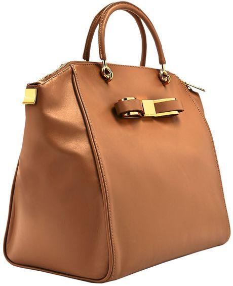 7ac0a80d764b89 Tory Burch Tote Bag  Ted Baker Bow Bag Tan