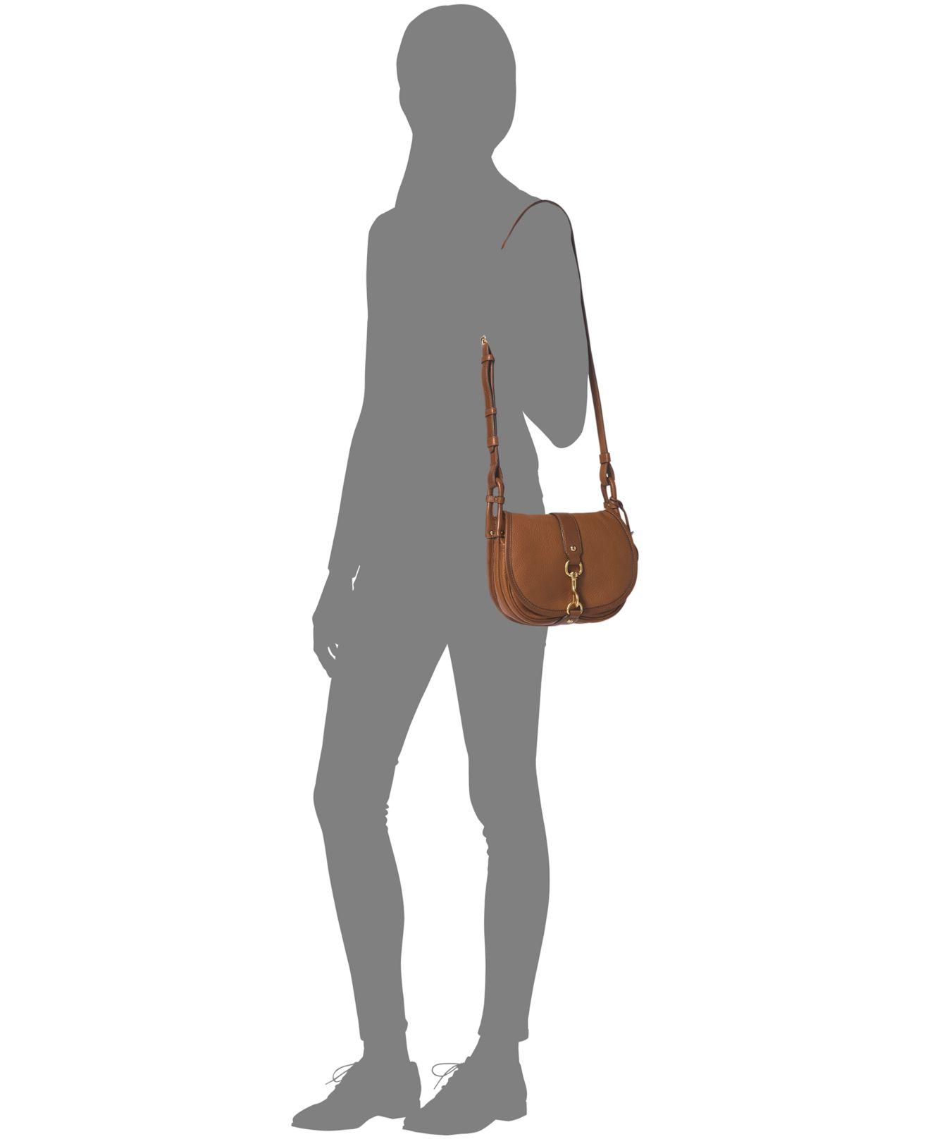 e0621e393bea ... kors Elyse Leather Tassel Large Saddle Bag i Gallery. Previously sold  at Macys · Womens Saddle Bags Womens Miu Miu Dahlia Womens Michael ...