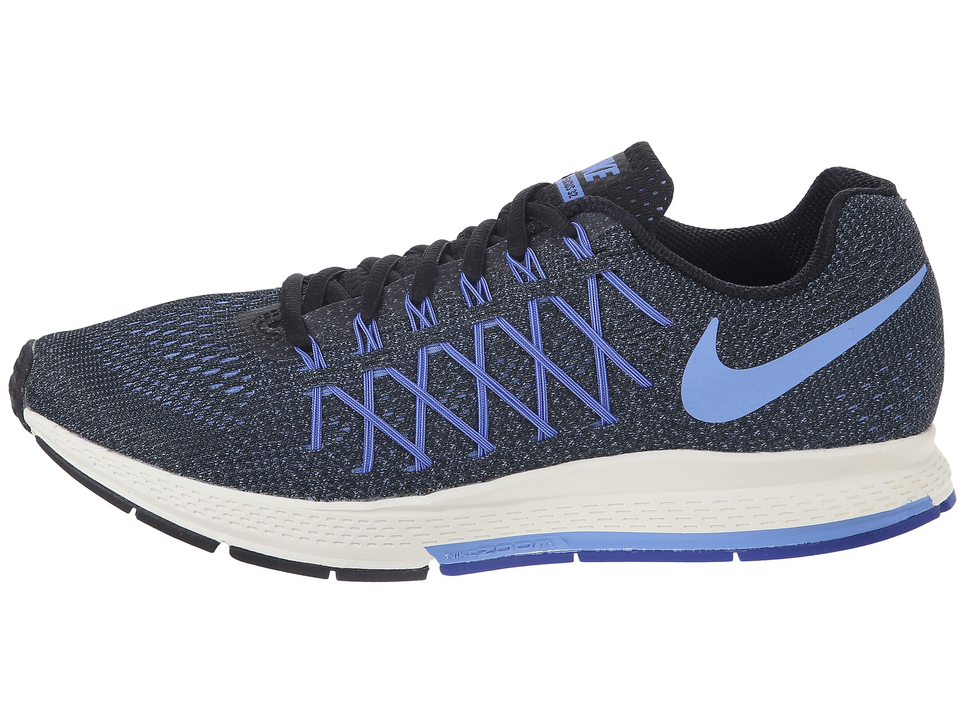 premium selection 3bc89 f3b6a ... new zealand lyst nike air zoom pegasus 32 womens running shoes in black  0fc6f 34be3