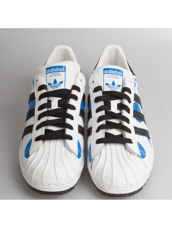 jeremy scott for adidas superstar polka dot sneakers white. Black Bedroom Furniture Sets. Home Design Ideas