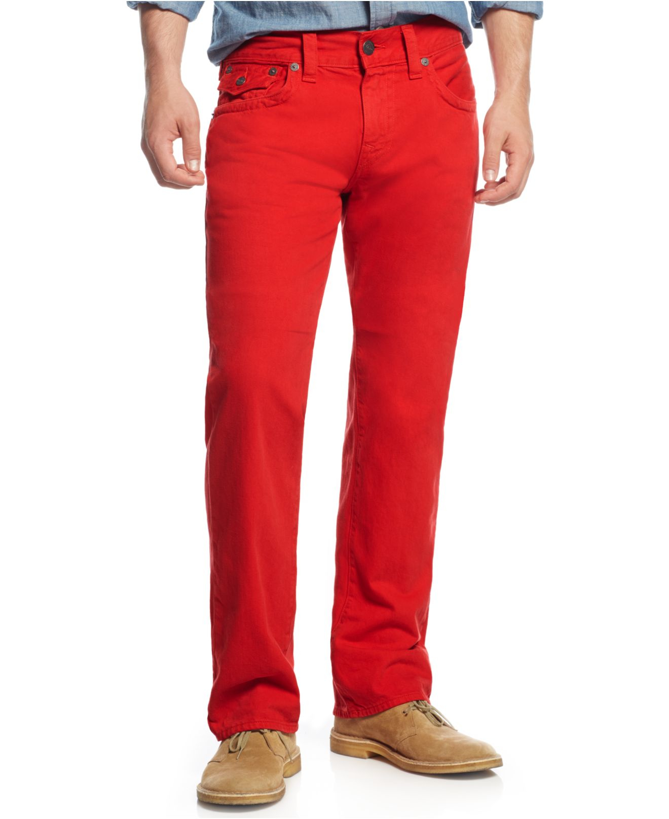 True religion Men's Ricky Relaxed Straight Fit Colored ...