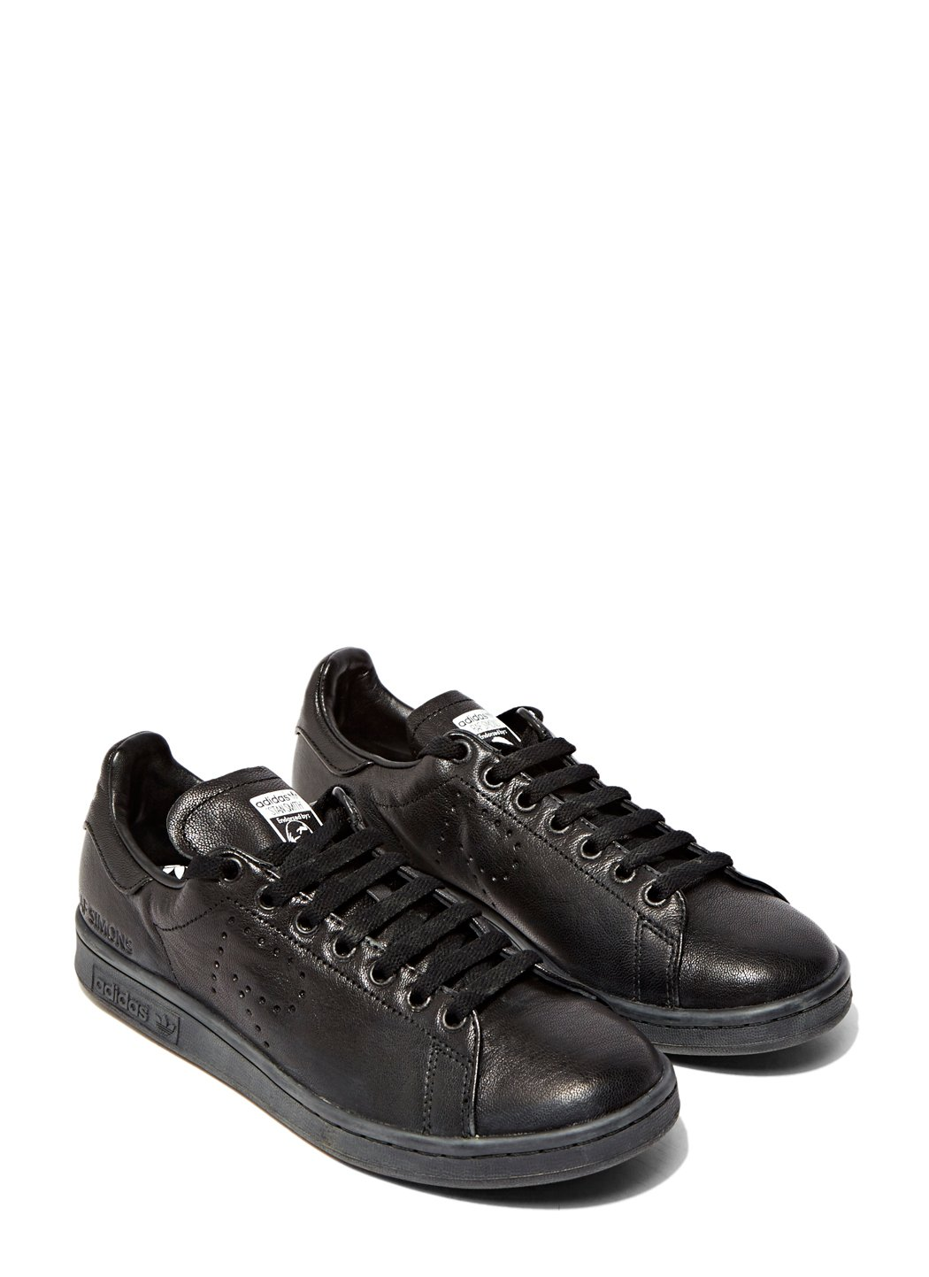 ed901405e448cf Lyst - Raf Simons Aged Stan Smith Sneakers in Black for Men