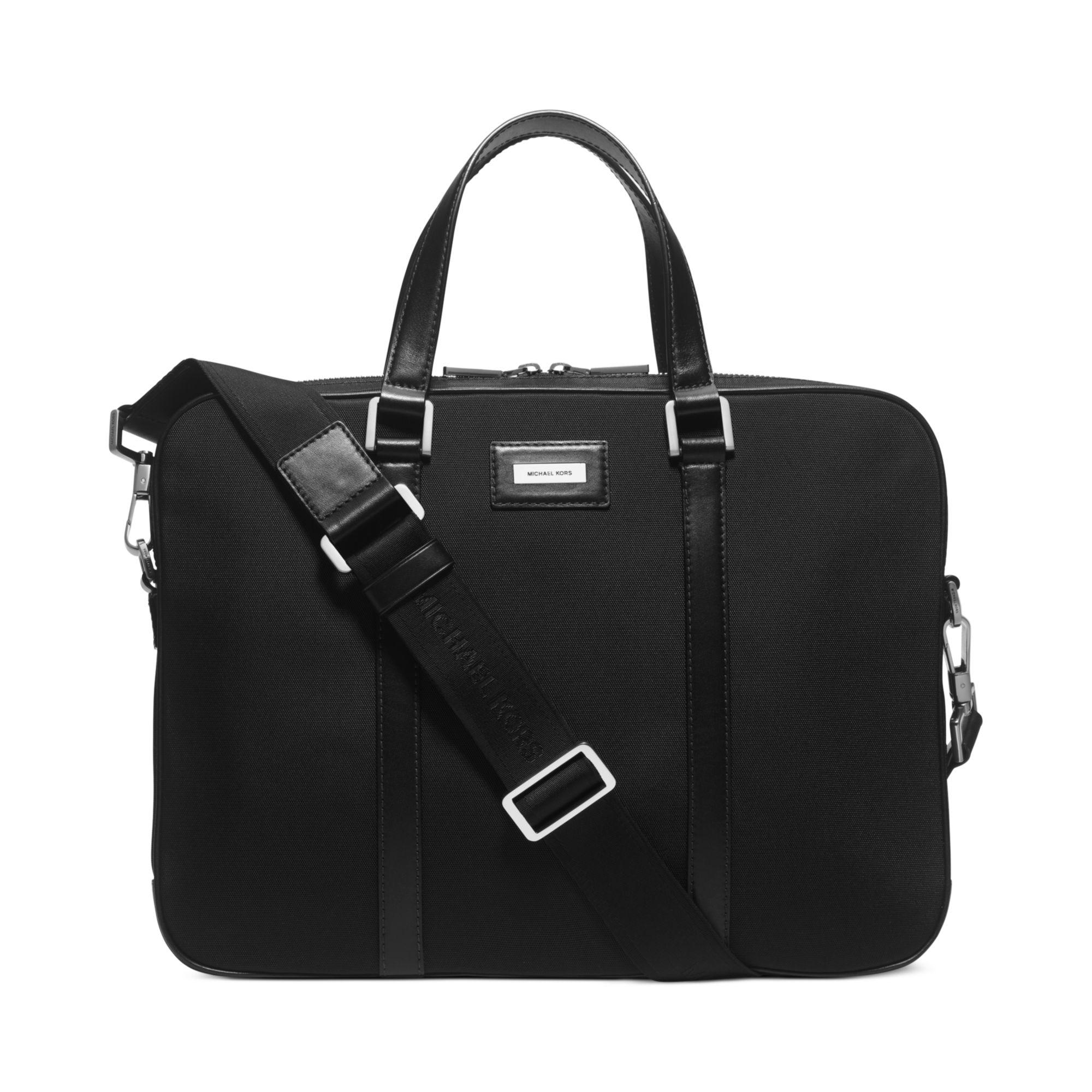 c2a2288ab Lyst - Michael Kors Windsor Slim Briefcase in Black for Men