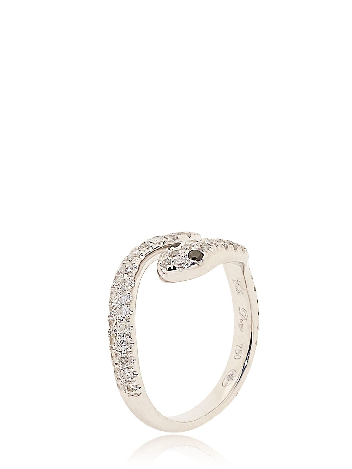 Elise Dray diamond three-piece Piccadilly ring - Metallic p2rnvnbLy3