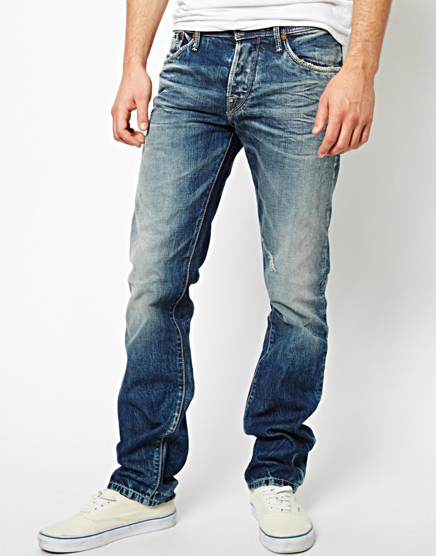 Guess Mens Bootcut Jeans