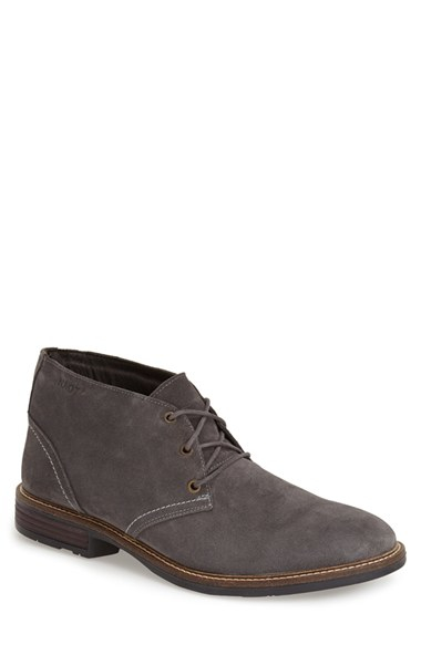 naot pilot chukka boot in gray for grey suede lyst