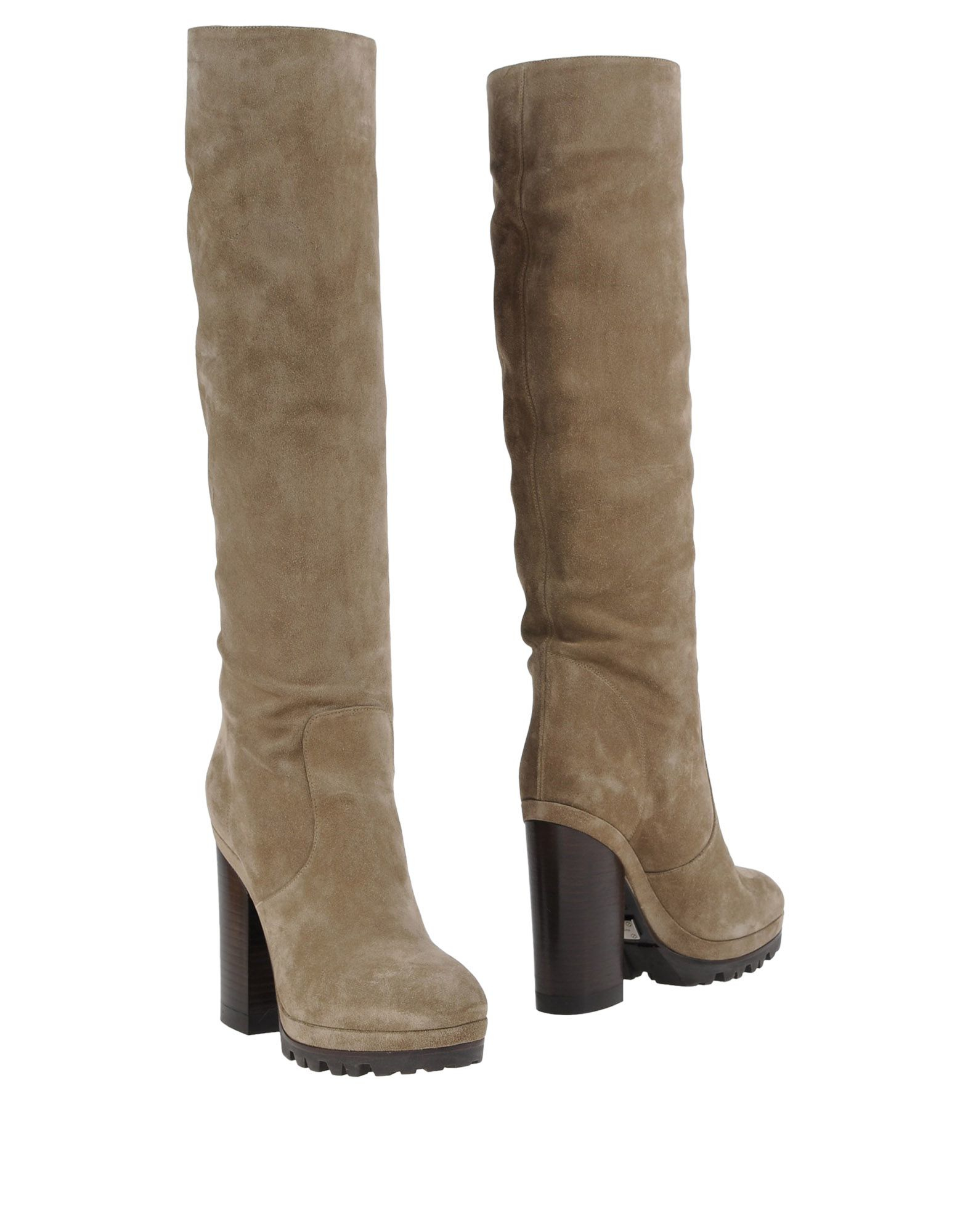 lyst michael michael kors boots in gray. Black Bedroom Furniture Sets. Home Design Ideas