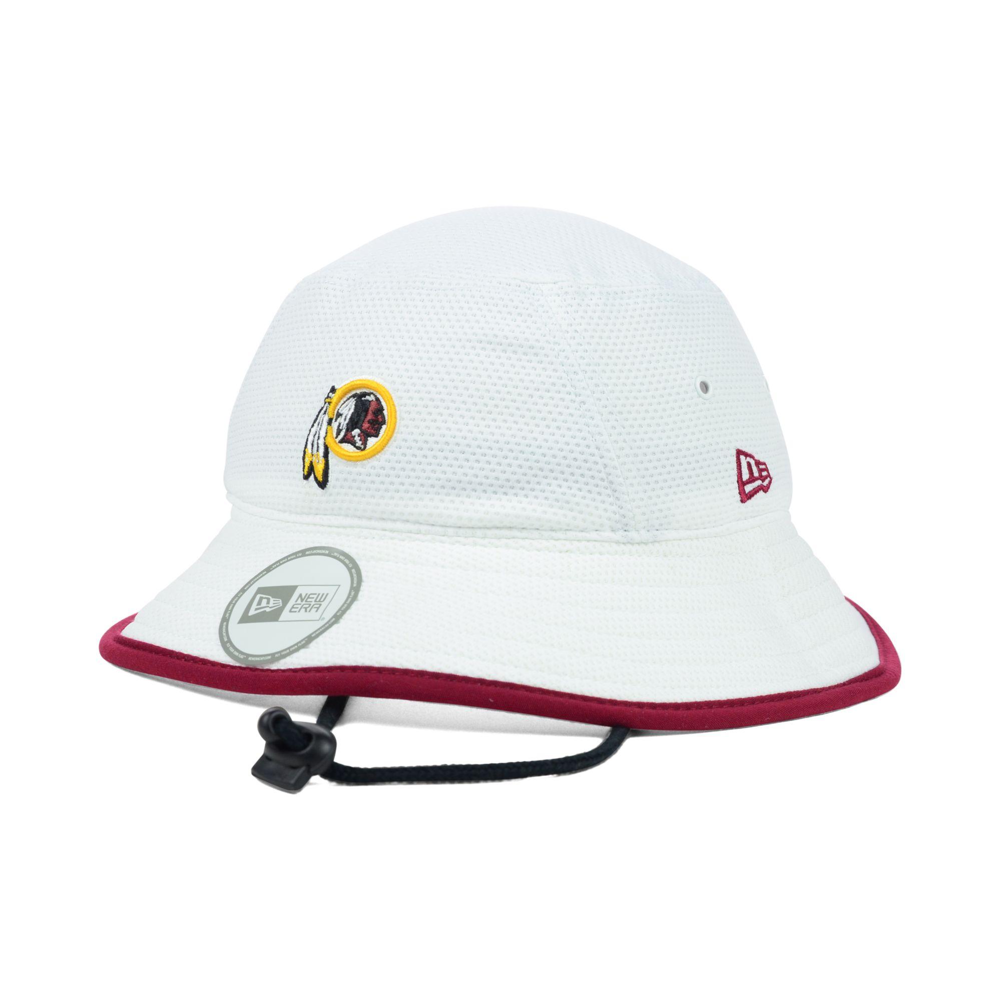 Lyst - KTZ Washington Redskins Training Camp Bucket Hat in White for Men 434d542a8