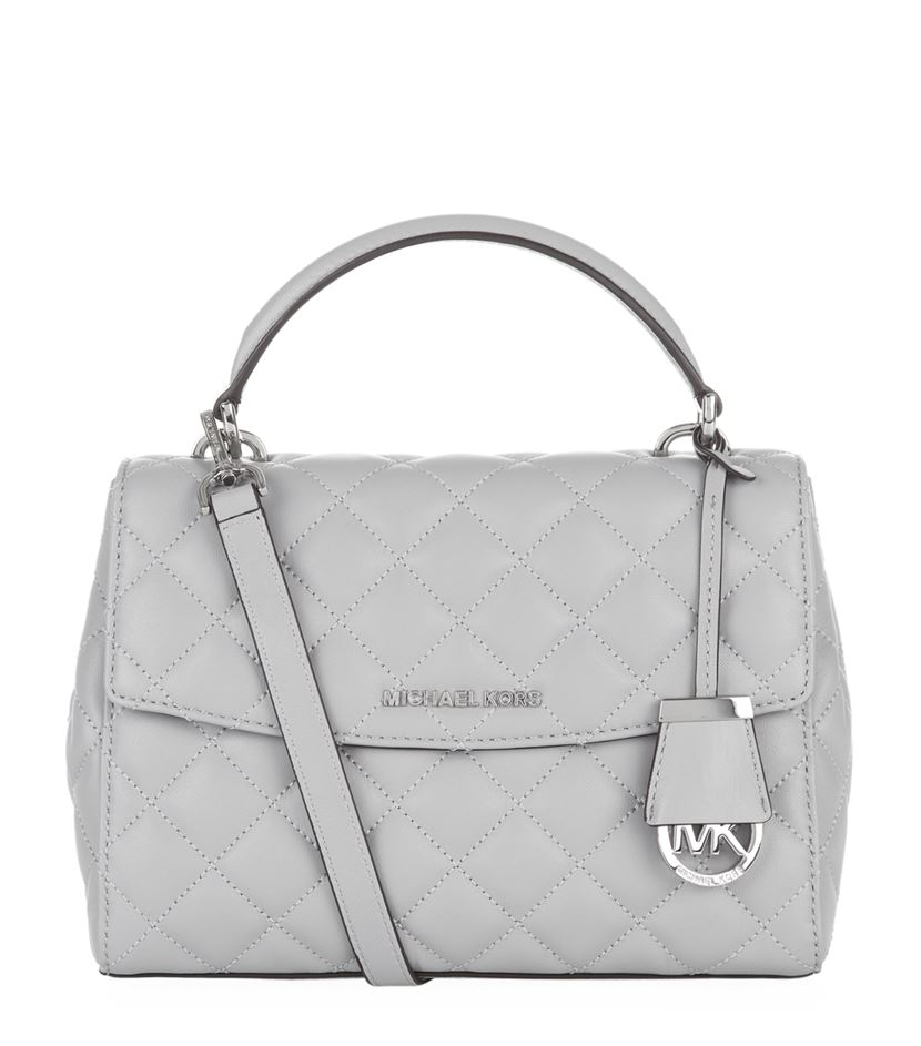 317920a329fc Gallery. Previously sold at  Harrods · Women s Michael Kors Charm Women s  Michael Kors Quilted Bag