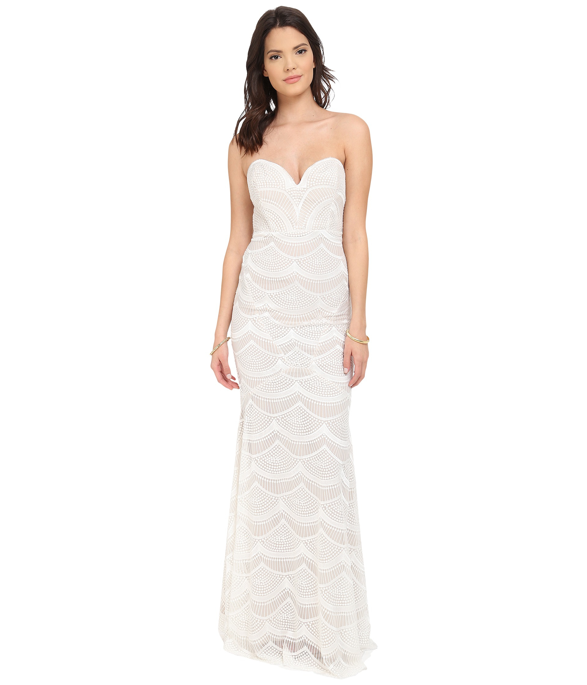 Lyst stone cold fox market gown in white gallery ombrellifo Images