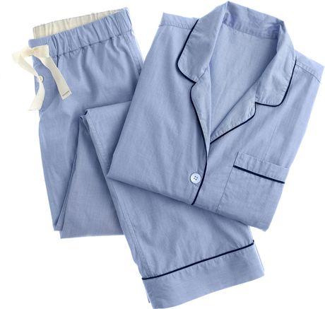 J.crew Vintage Pajama Set in Blue (hydrangea)