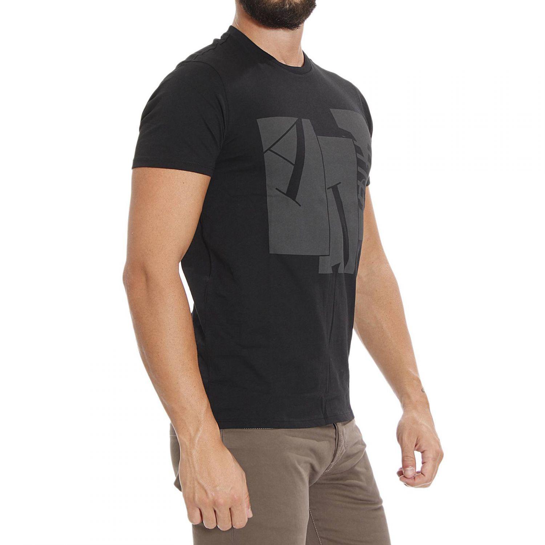 Lyst Giorgio Armani T Shirt Short Sleeve Print Logo In