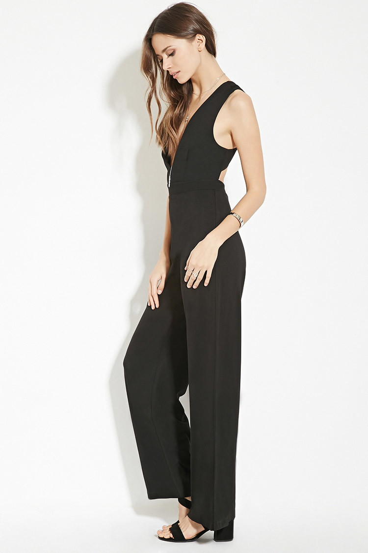 5ad66d930b8f Forever 21 Contemporary Wide-leg Jumpsuit You ve Been Added To The ...