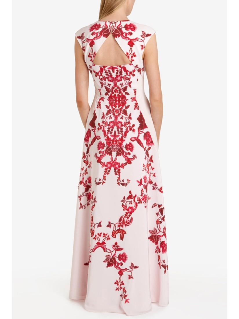 Ted Baker Nelum China Maxi Dress Lyst