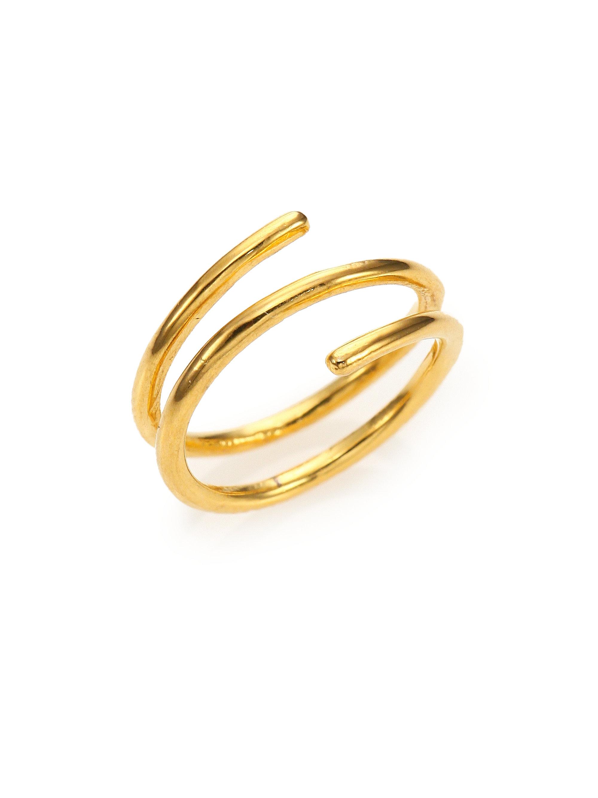 Crisscross Ring Upper Finger