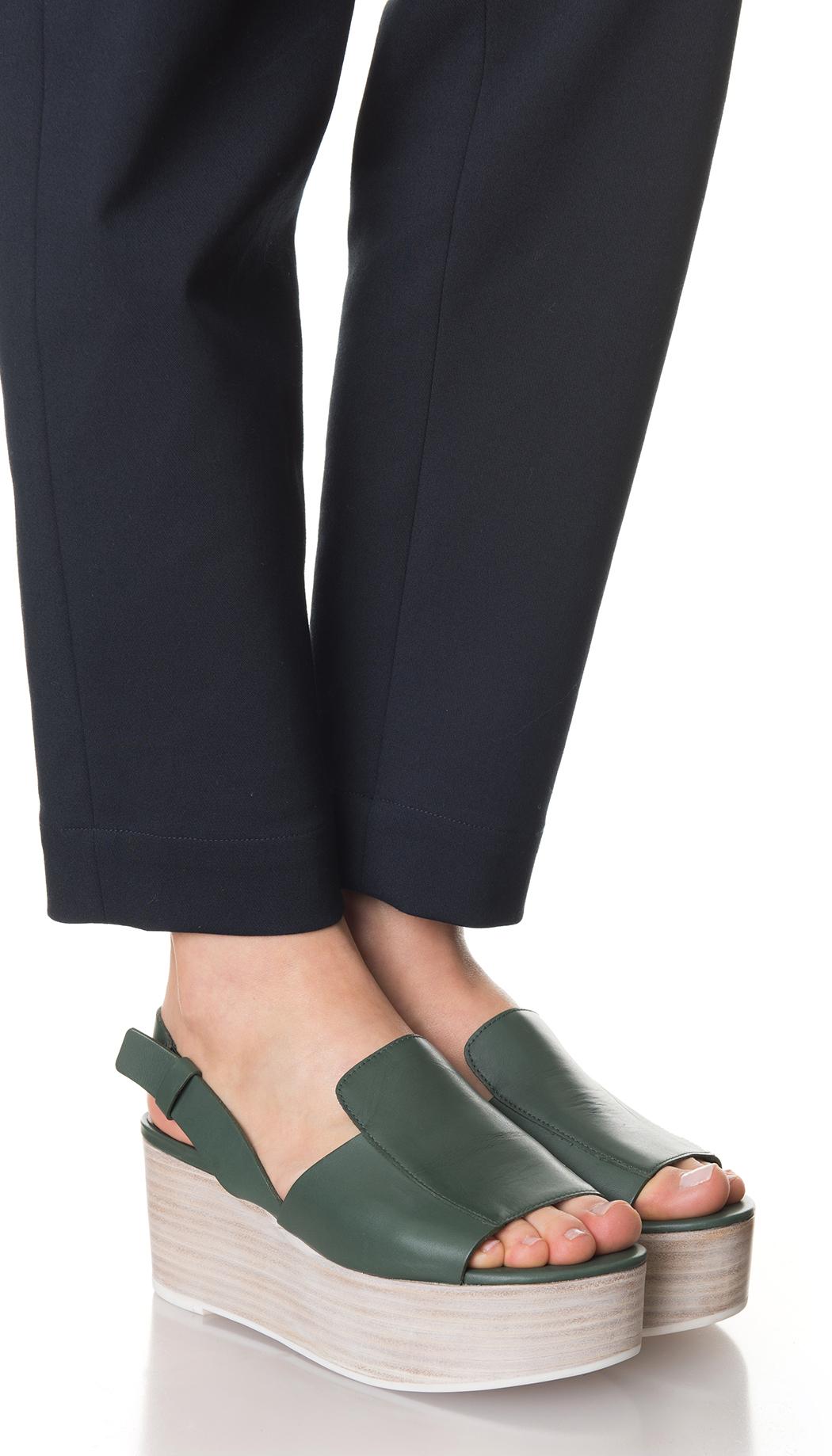 17733f79be9 Lyst - Tibi Alex Platform Sandals in Green