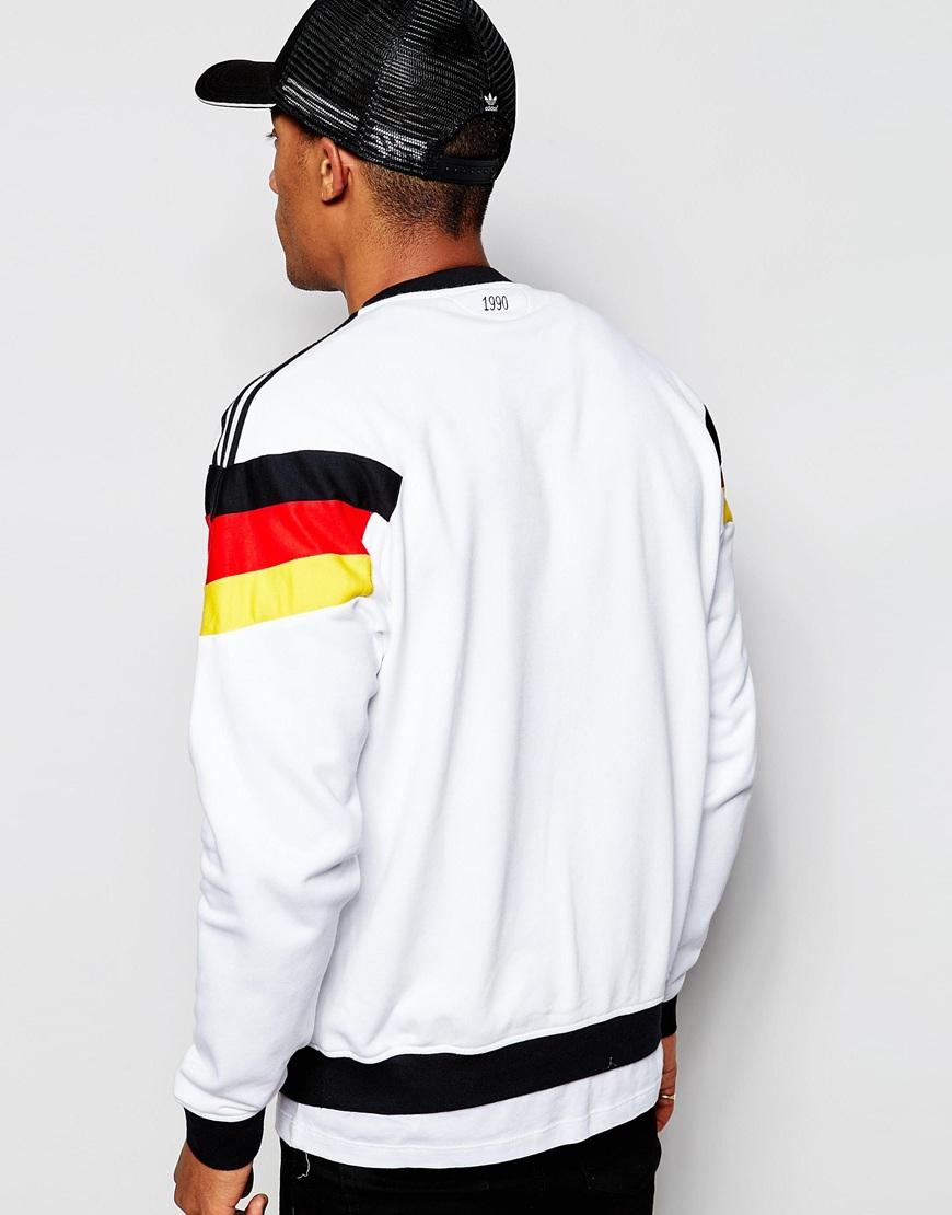 Lyst Adidas Originals Retro Beckenbauer Sweatshirt