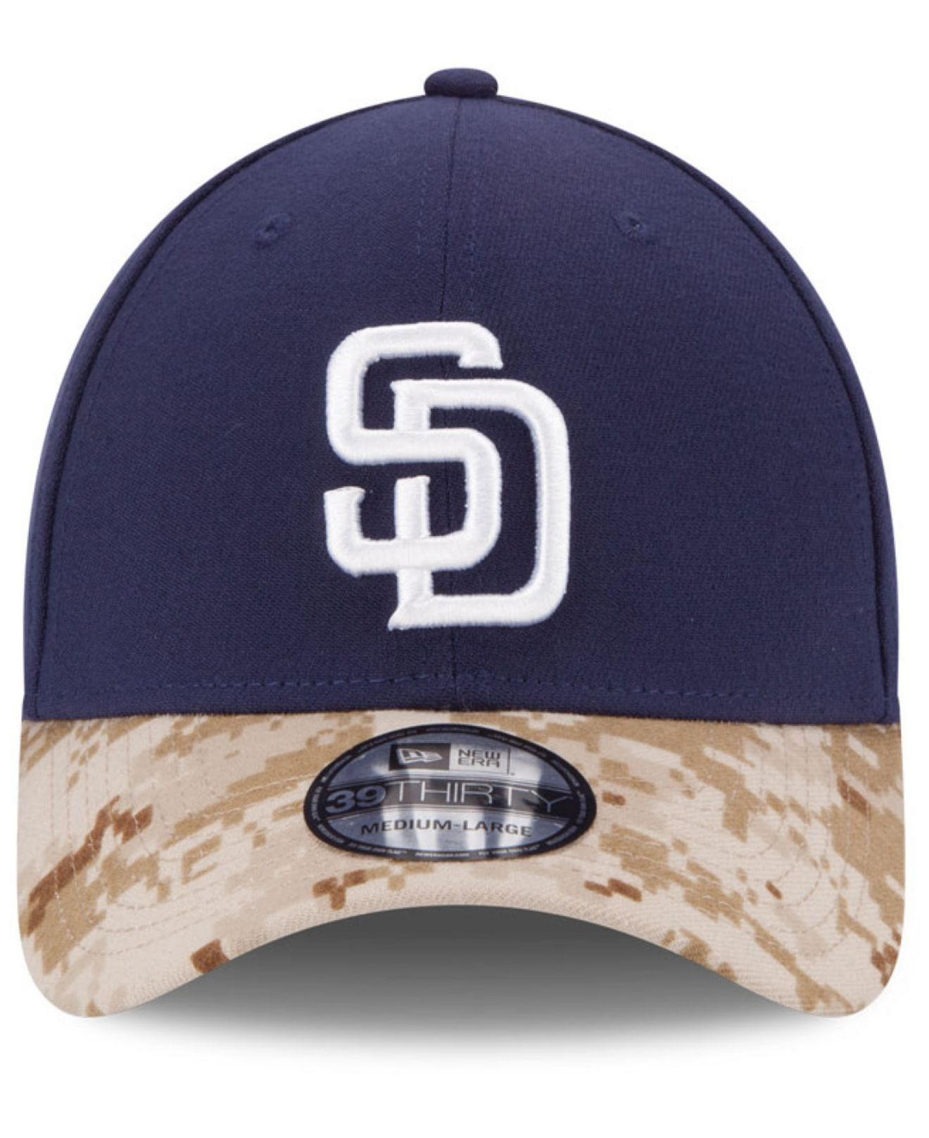 Lyst - KTZ San Diego Padres Memorial Day 39Thirty Cap in Blue for Men a93df987418