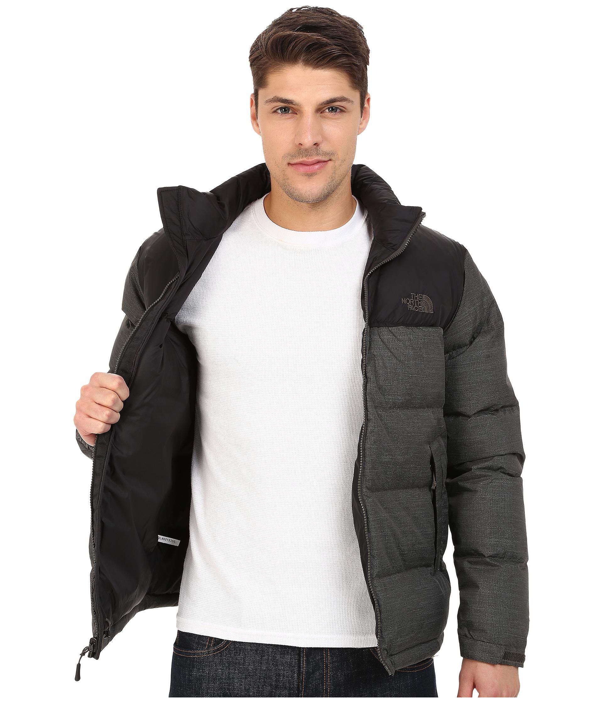 The north face men's nuptse jacket tnf black