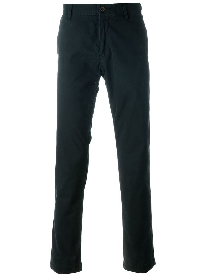 Polo Ralph Lauren Classic Washed Chinos In Blue For Men Lyst