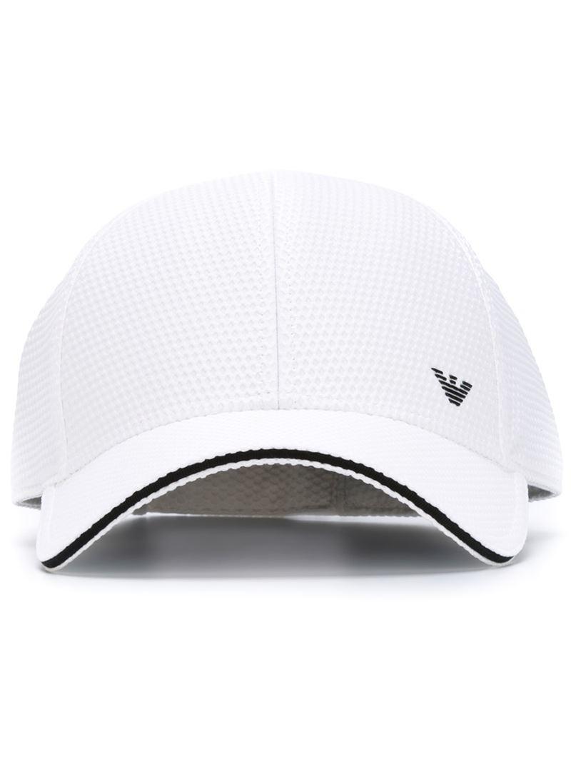 c989e75901c Lyst - Emporio Armani Baseball Cap in White for Men