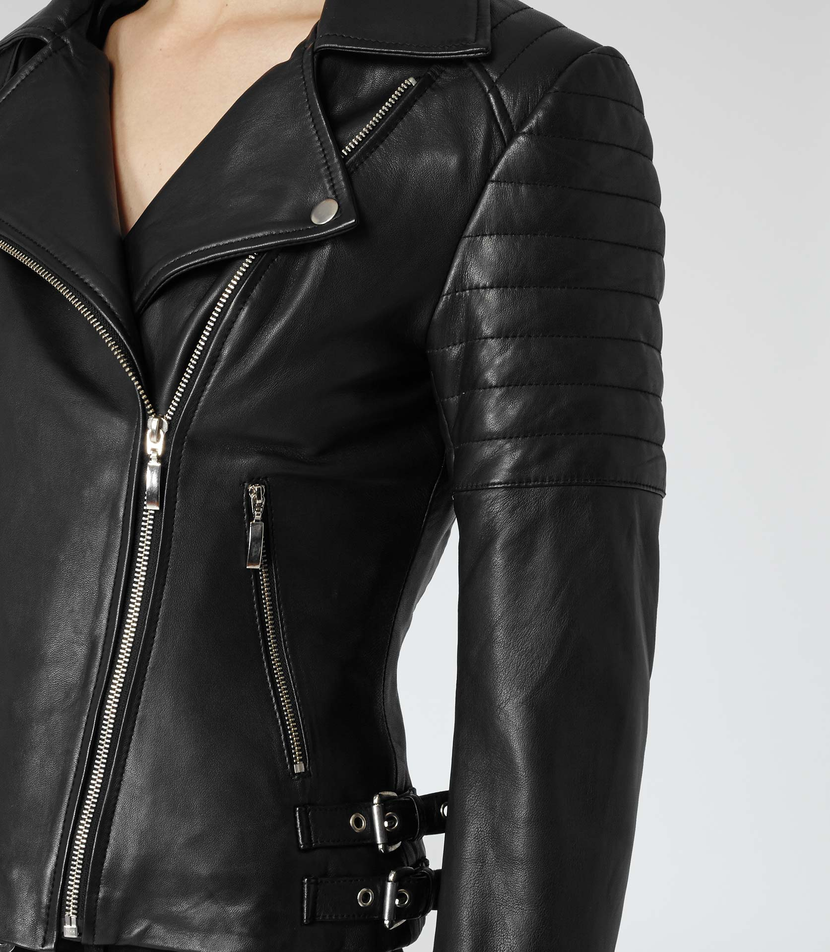 Leather motorcycle jackets for women fashion 75