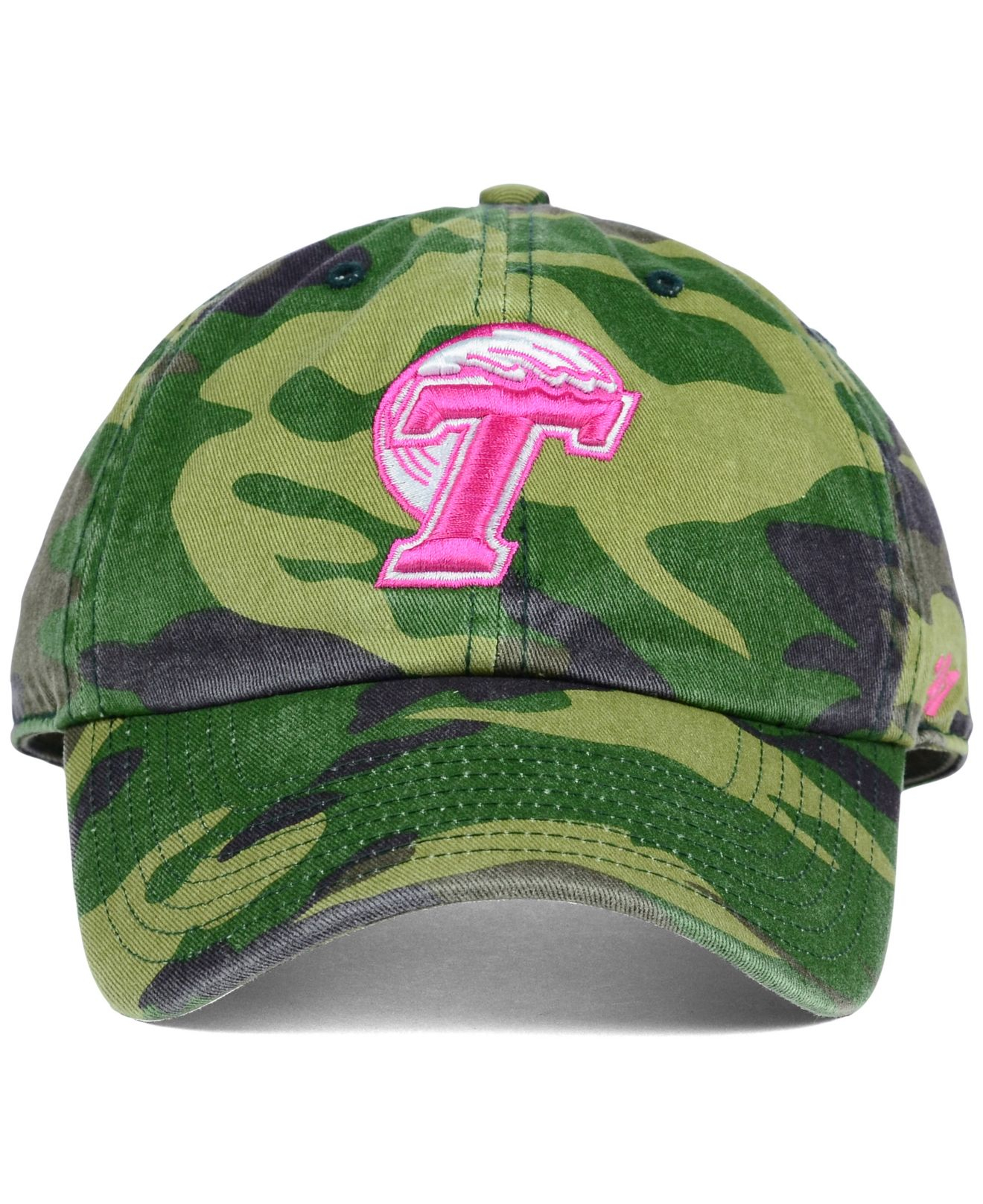 cheap for discount 10aec 7f348 ... italy lyst 47 brand womens tulane green wave ncaa fashion clean up cap  d489f ce5df