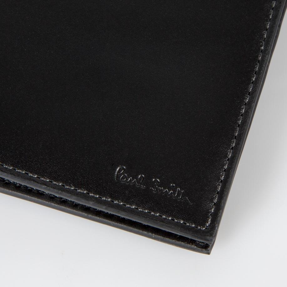 Paul Smith Men 39 S 39 Naked Lady 39 Print Interior Black Leather Billfold Wallet In Black For Men Lyst
