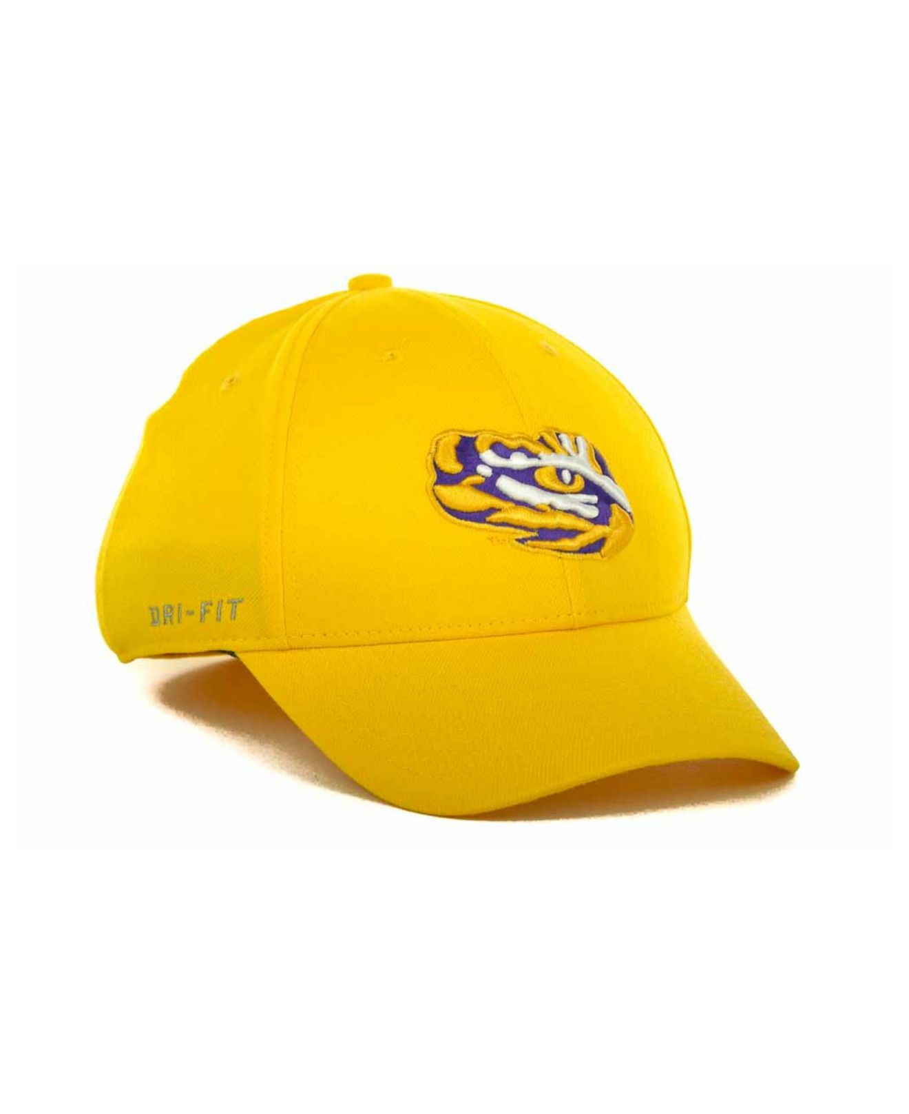 size 40 66249 184ed discount code for lyst nike lsu tigers drifit swoosh flex cap in metallic  for men 8f2ae