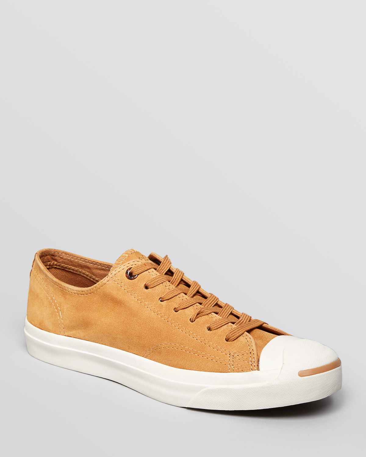 0ce8176325de Lyst - Converse Jack Purcell Suede Sneakers in Brown for Men