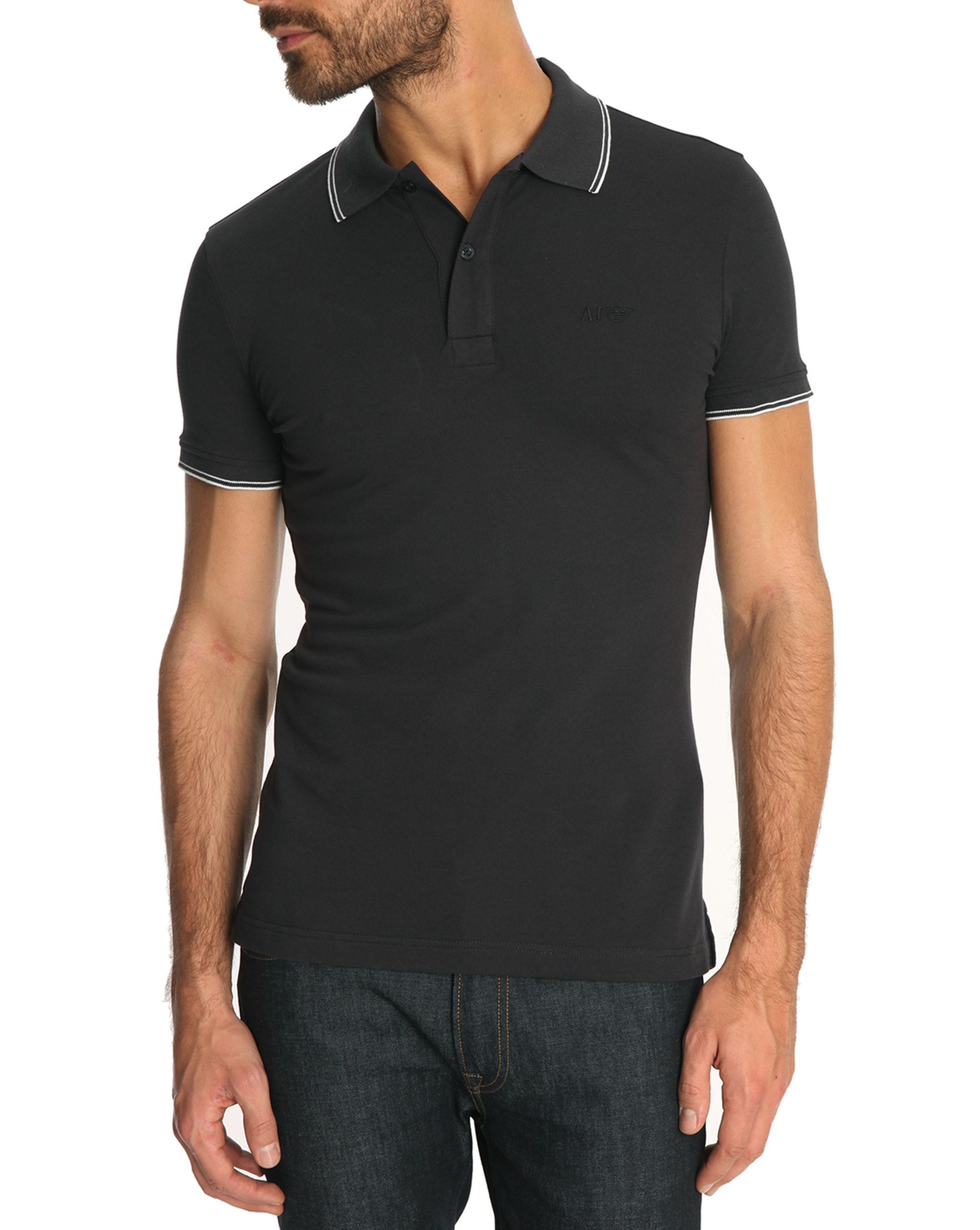 6a985e62ba0 Armani Jeans Slim Polo T Shirt White - BCD Tofu House