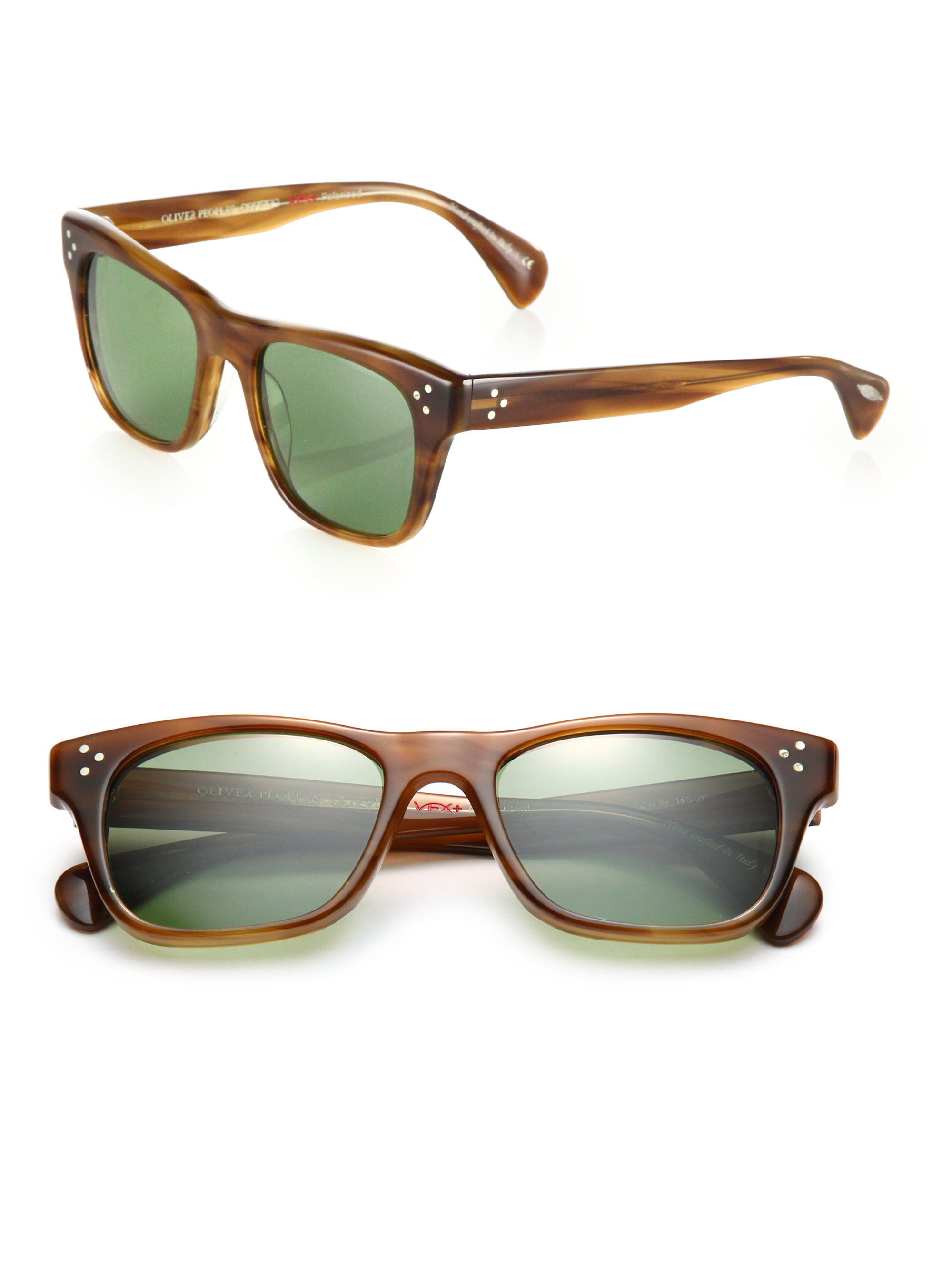 Oliver Peoples Jack Huston 52mm Square Sunglasses In Brown