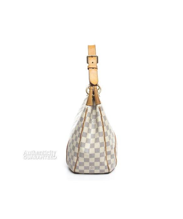 b631c9f685c4 Lyst - Louis Vuitton Damier Azur Galliera Pm Bag in White
