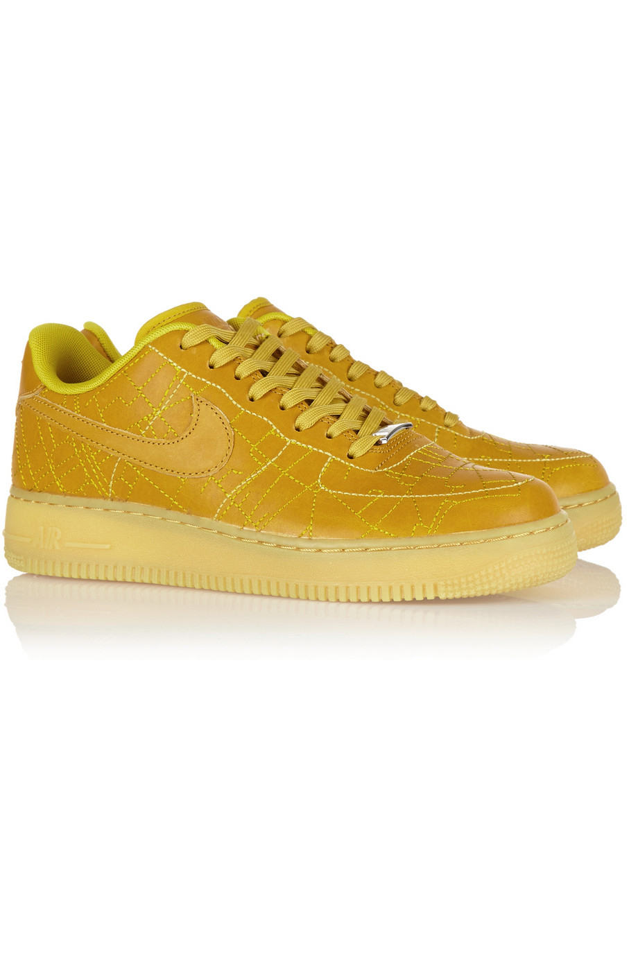 Lyst Nike 'Air Force 1' Sneakers in Yellow