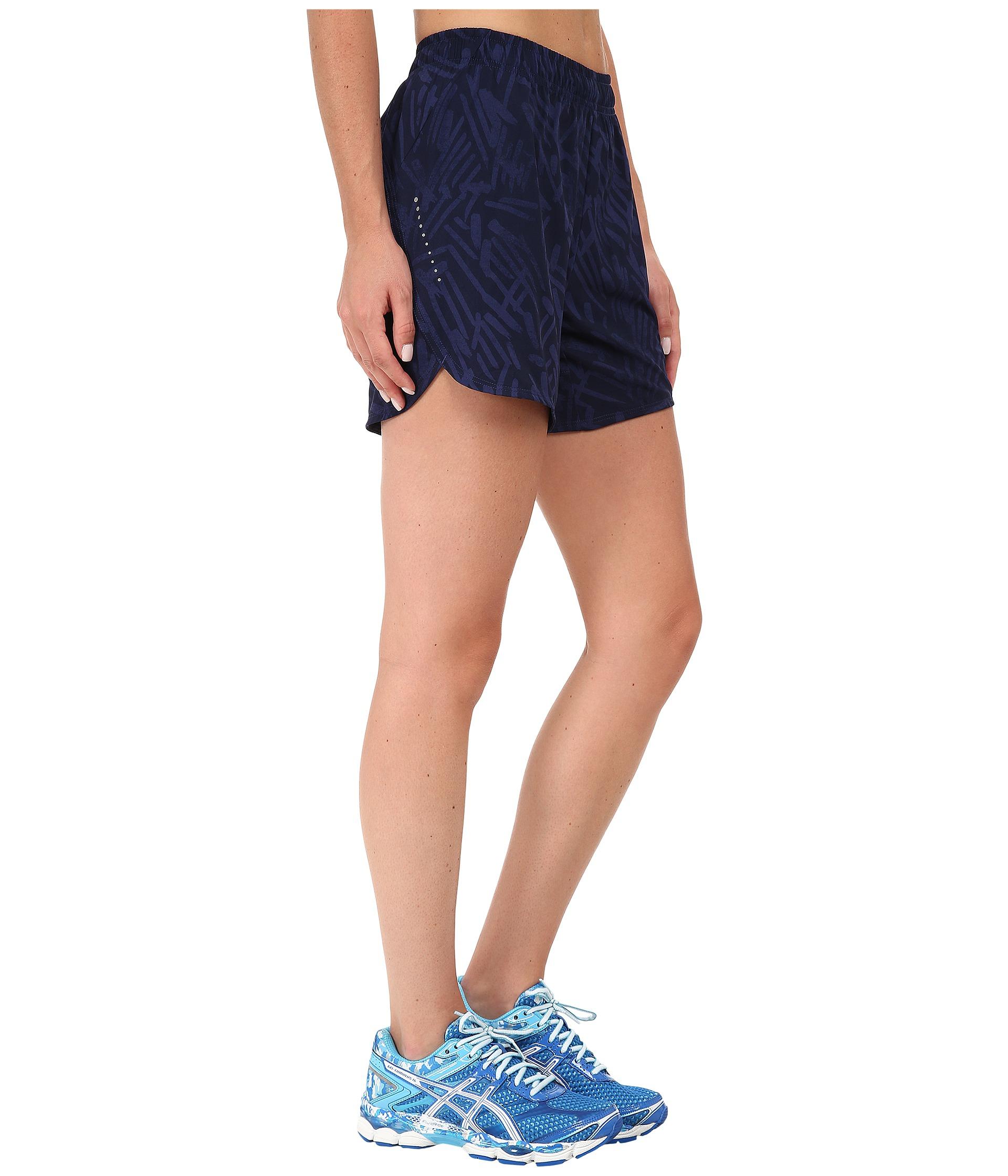 asics 55 running shorts