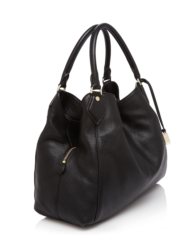 Diane von furstenberg Voyage Slouchy Shoulder Bag in Black | Lyst