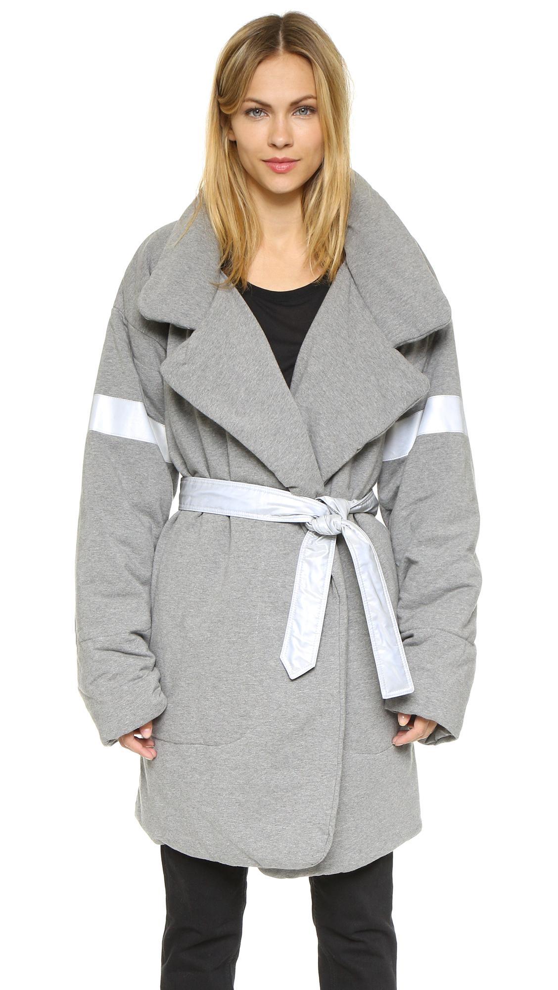 Norma Kamali Reversible Quilted Sleeping Bag Coat Black