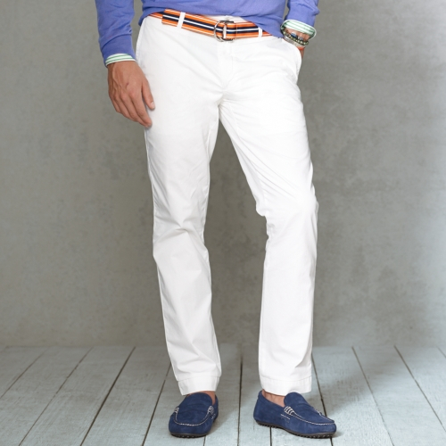 b3bcbb4e4c7676 Polo Ralph Lauren Straightfit Chino Pant in White for Men - Lyst